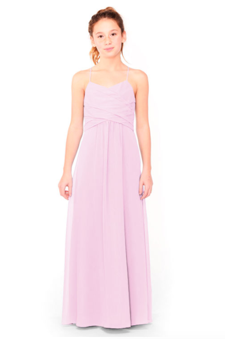 Bari Jay Junior Bridesmaid Dress 1962 - Orchid