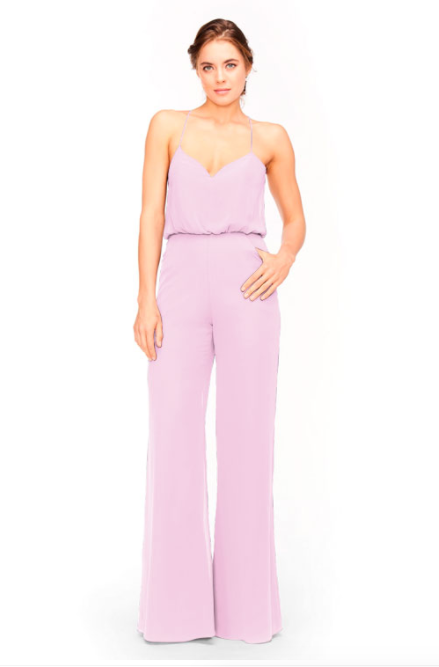 Bari Jay Jumpsuit Bridesmaid Dress 1964 - Orchid