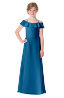 Bari Jay Junior Bridesmaid Dress - 1730(JR)-Peacock_