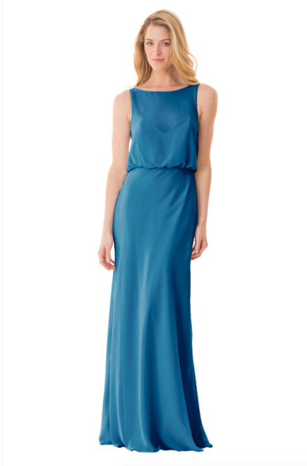 Bari Jay Bridesmaid Dress - 1661-Peacock