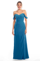 Bari Jay Bridesmaid Dress 2080 - Peacock