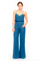 Bari Jay Jumpsuit Bridesmaid Dress 1964 - Peacock