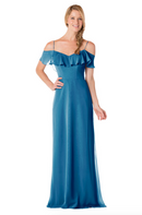Bari Jay Bridesmaid Dress - 1730-Peacock