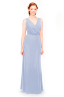 Bari Jay Bridesmaid Dress 1970 -Periwinkle
