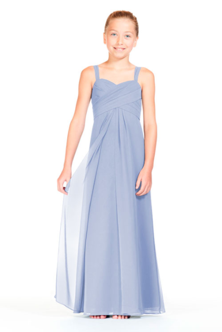Bari Jay Junior Bridesmaid Dress 1803 (JR)-Periwinkle