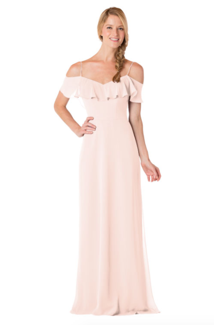 Bari Jay Bridesmaid Dress - 1730-Petal