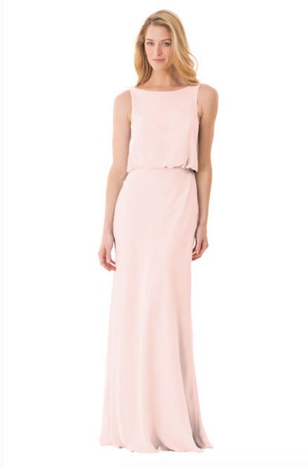 Bari Jay Bridesmaid Dress - 1661-Petal