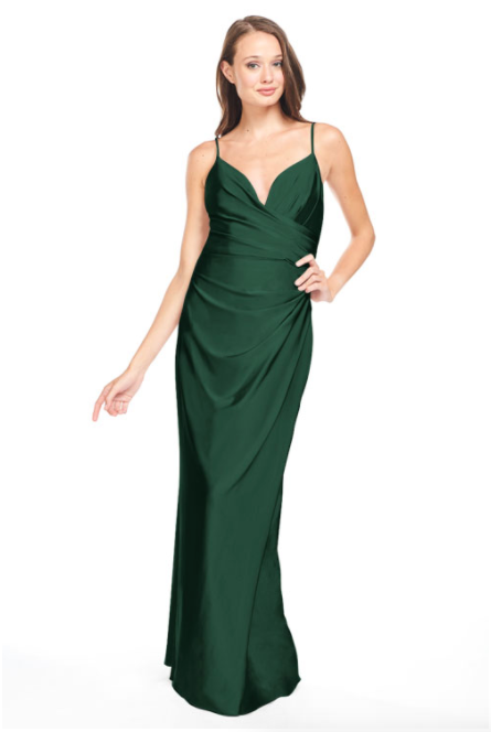 Bari Jay Bridesmaid Dress - 2005 Pine