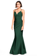 Bari Jay Bridesmaid Dress 2000 -Pine