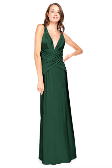 Bari Jay Bridesmaid Dress 2001 -Pine