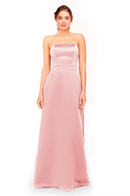 Bari Jay Bridesmaid Dress 1975 - Pink