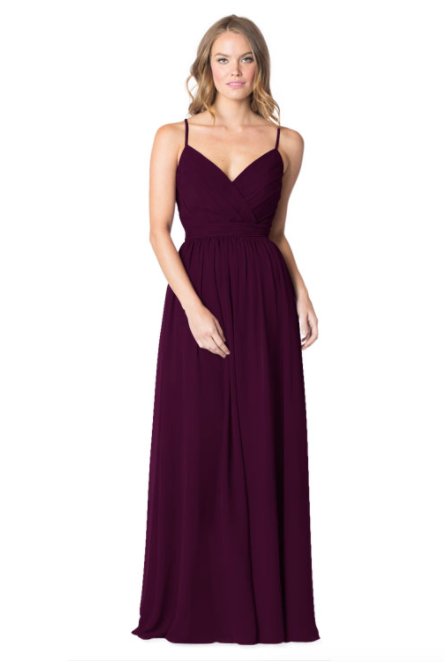 Bari Jay Bridesmaid Dress - 1606 BC-Plum