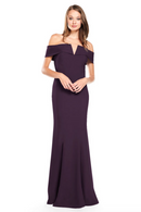 Bari Jay Bridesmaid Dress 2014 -Plum