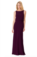 Bari Jay Bridesmaid Dress - 1661-Plum