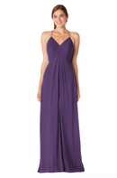 Bari Jay Bridesmaid Dress - 1723 IC-Plum