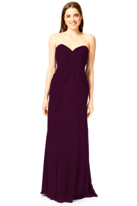 Bari Jay Bridesmaid Dress 1870 -Plum