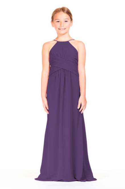 Bari Jay IC Junior Bridesmaid Dress - 1806 IC (JR)-Plum