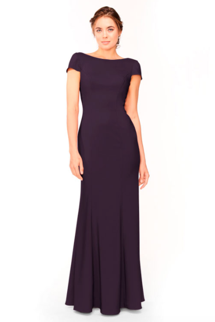 Bari Jay Bridesmaid Dress 1953 - Plum