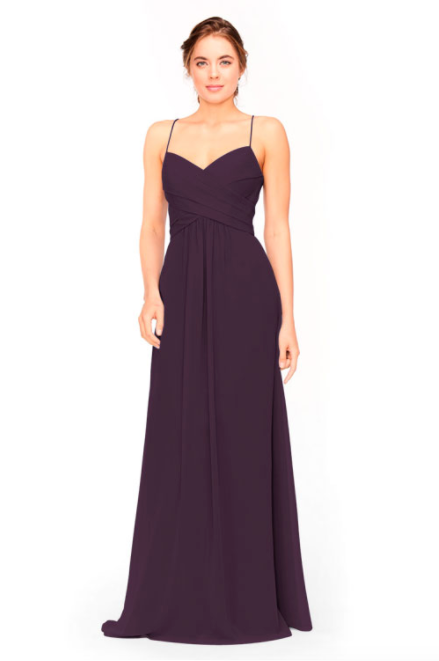 Bari Jay Bridesmaid Dress 1962 -Plum