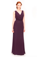 Bari Jay Bridesmaid Dress 1970 -Plum