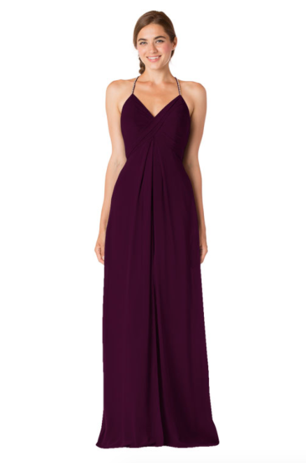 Bari Jay Bridesmaid Dress - 1723 BC-Plum