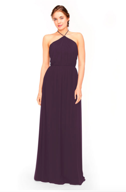 Bari Jay Bridesmaid Dress 1969 - Plum