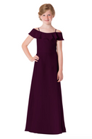 Bari Jay Junior Bridesmaid Dress - 1730(JR)-Plum