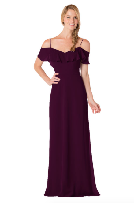Bari Jay Bridesmaid Dress - 1730-Plum