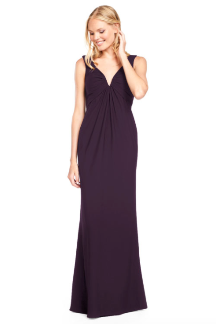 Bari Jay Bridesmaid Dress 2011 -Plum