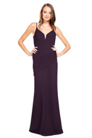 Bari Jay Bridesmaid Dress 2012 - Plum