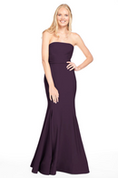 Bari Jay Bridesmaid Dress 2015 -Plum