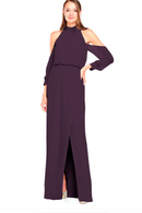 Bari Jay Bridesmaid Dress 2028 - Plum