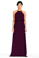 Bari Jay Bridesmaid Dress 1801-Plum