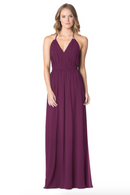 Raspberry-Bari Jay Bridesmaid Dress - 1600