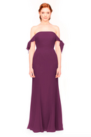 Bari Jay Bridesmaid Dress 1974 - Raspberry