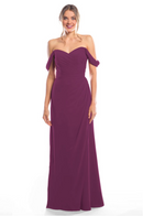 Bari Jay Bridesmaid Dress 2080 - Raspberry