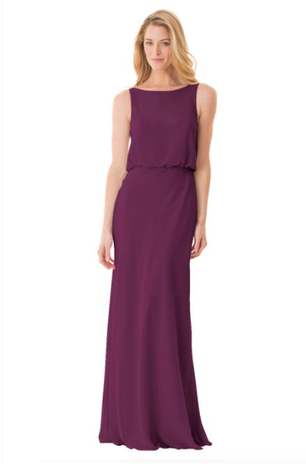Bari Jay Bridesmaid Dress - 1661-Raspberry