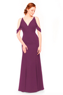 Bari Jay Bridesmaid Dress 1972 - Raspberry