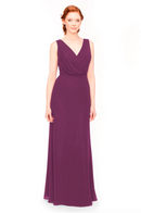 Bari Jay Bridesmaid Dress 1970 -Raspberry