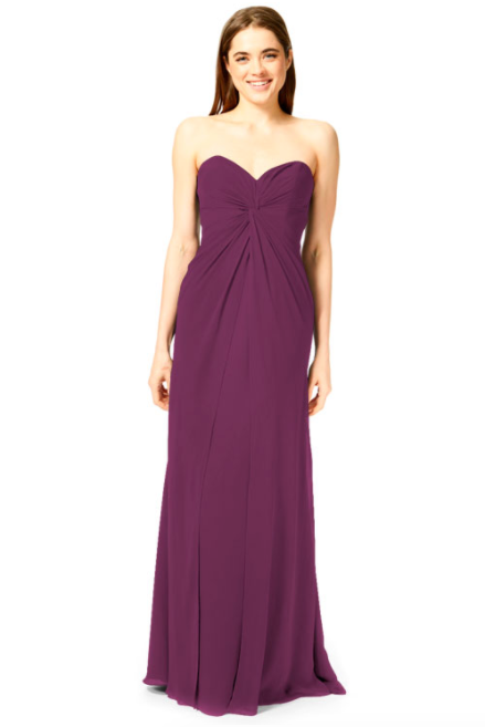 Bari Jay Bridesmaid Dress 1870 -Raspberry