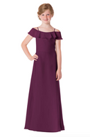 Bari Jay Junior Bridesmaid Dress - 1730(JR)-Raspberry_