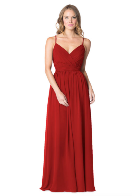Bari Jay Bridesmaid Dress - 1606 BC-Red