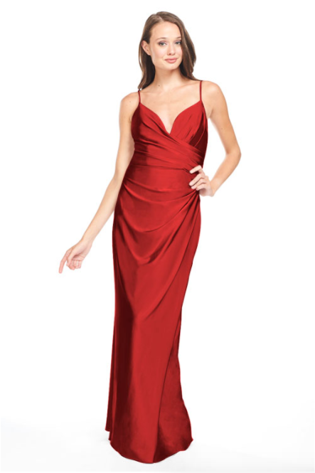 Bari Jay Bridesmaid Dress - 2005 red