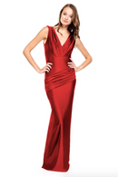 Bari Jay Bridesmaid Dress - 2006 Red