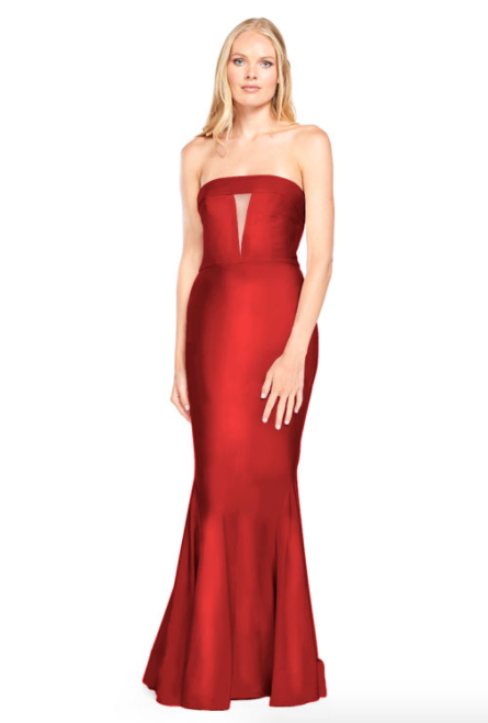 Bari Jay Bridesmaid Dress - 2008 Red