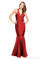 Bari Jay Bridesmaid Dress - 2009 Red