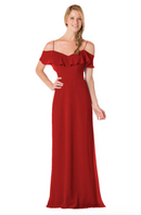 Bari Jay Bridesmaid Dress - 1730-Red_