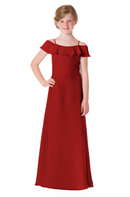 Bari Jay Junior Bridesmaid Dress - 1730(JR)-Red