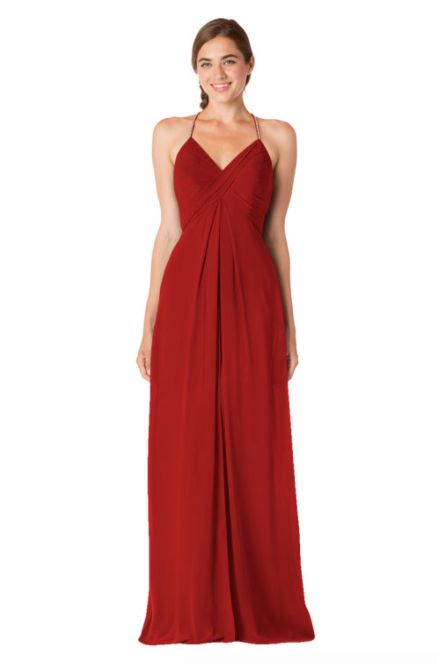 Bari Jay Bridesmaid Dress - 1723 BC-Red