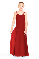 Bari Jay Junior Bridesmaid Dress 1803 (JR)-Red